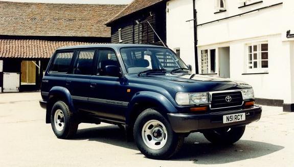 SPESIFIKASI TOYOTA LAND CRUISER VXR / VX80 (1991-1998)