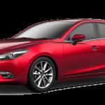 Mazda3 generasi ketiga sudah diluncurkan sejak 2014, namun peredarannya masih sangat jarang dan tergolong langka