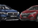 trend crossover mulai merajai pasar, khususnya crossover compact bermesin 1500 cc. Di segmen ini, kita akan bandingkan antara crossover yang laris manis, Honda HR-V (varian 1500 cc) dengan Suzuki SX4 S-Cross, crossover yang pernah sukses pada generasi pendahulunya, Suzuki SX4.