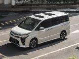 Toyota Voxy didesain dengan konsep mengkotak namun tidak kaku dan justru terkesan futuristik
