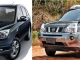 Kedua SUV ini merupakan SUV perkotaan yang lebih cocok untuk penggunaan di jalanan aspal. Selain berpenggerak roda depan, keduanya juga memiliki karakter kaki-kaki yang tidak setangguh SUV ladder frame. Secara desain, Honda CR-V RE terkesan manis dan modern yang secara relatif cocok untuk laki-laki maupun perempuan. Sedangkan Nissan X-Trail, desainnya terlihat macho dan gagah sehingga kurang cocok untuk kaum hawa. Mesin Nissan X-Trail 100 cc lebih besar dari mesin Honda CR-V. Karakter mesin keduanya juga berbeda. Honda CR-V lebih bertenaga di putaran atas, namun putaran bawahnya tidak spesial. Sedangkan Nissan X-Trail, tenaga mesin terasa galak dari putaran bawah hingga menengah, namun di putaran atas terasa tertahan oleh transmisi CVT-nya. Suspensi Honda CR-V berkarakter sporty. Terasa keras dan lebih kaku sehingga handlingnya baik namun kurang nyaman untuk jalanan yang rusak. Sedangkan Nissan X-Trail, suspensinya lembut dan empuk, mampu meredam guncangan dari jalan jelek dengan baik. Namun, handlingnya tidak setajam CRV dan bodyrollnya cenderung lebih terasa. Fitur Honda CR-V dan Nissan X-Trail biasa saja. Honda CR-V dilengkapi dengan AC digital dual zone dan VSA, sedangkan Nissan X-Trail dilengkapi dengan keyless entry, steering audio control, dan cupholder chiller. Honda CR-V sedikit lebih mahal dari Nissan X-Trail baik kondisi baru maupun bekas. Untukvalue for money, keduanya masih cukup baik apabila membeli dalam kondisi bekas karena memang resale value mobil dengan mesin relatif besar tergolong rendah.