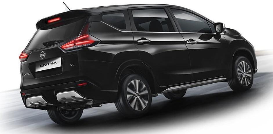 Desain Eksterior All New Nissan Livina 2019 (Black)