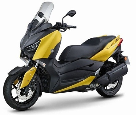 Yamaha Xmax 250 (Yellow on Black)