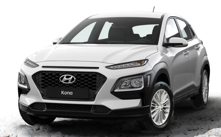 Desain Hyundai Kona (Tampak Depan)