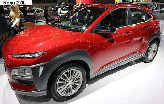 Hyundai Kona 2.0L Nu MPI Atkinson