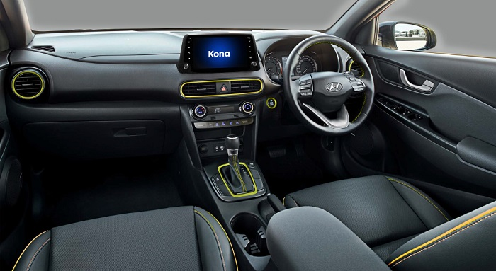 Desain Dashboard Hyundai Kona