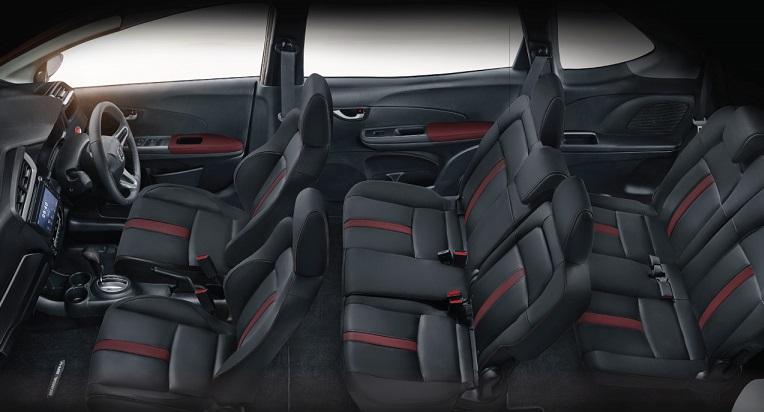 Honda BR-V 2019: Interior Configuration