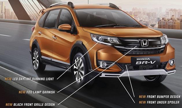 Honda BR-V 2019: Exterior Facelift Update List