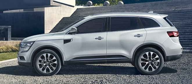 Renault Koleos Exterior Design (Side-view, White)