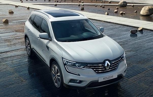 Renault Koleos Exterior Design (Upper-view, White)