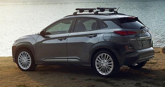Desain Hyundai Kona (Tampak Samping-Belakang)