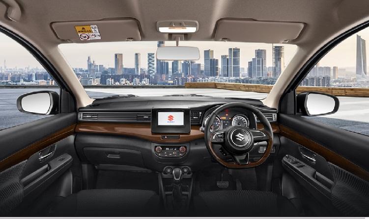 Desain Dashboard Suzuki Ertiga Sport