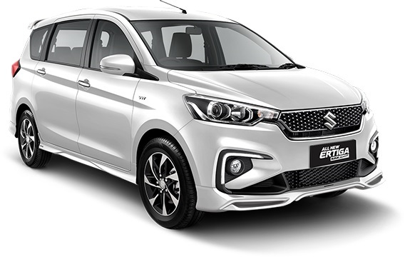Desain Eksterior Suzuki Ertiga Sport (White)
