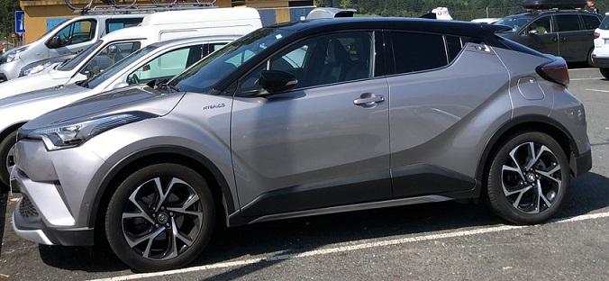 Toyota C-HR Hybrid: Exterior Design