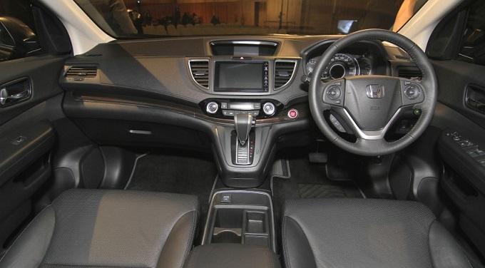 Honda CRV RM Gen4 Interior