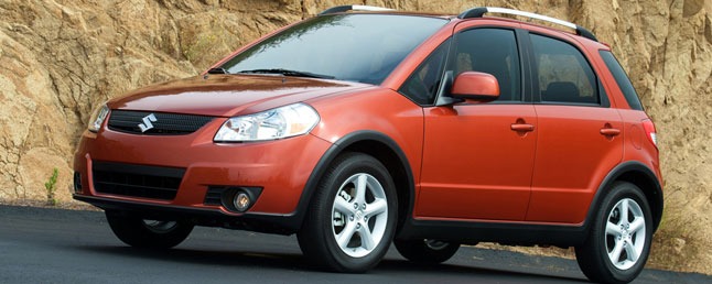 Suzuki SX4 X-Over Prefacelift