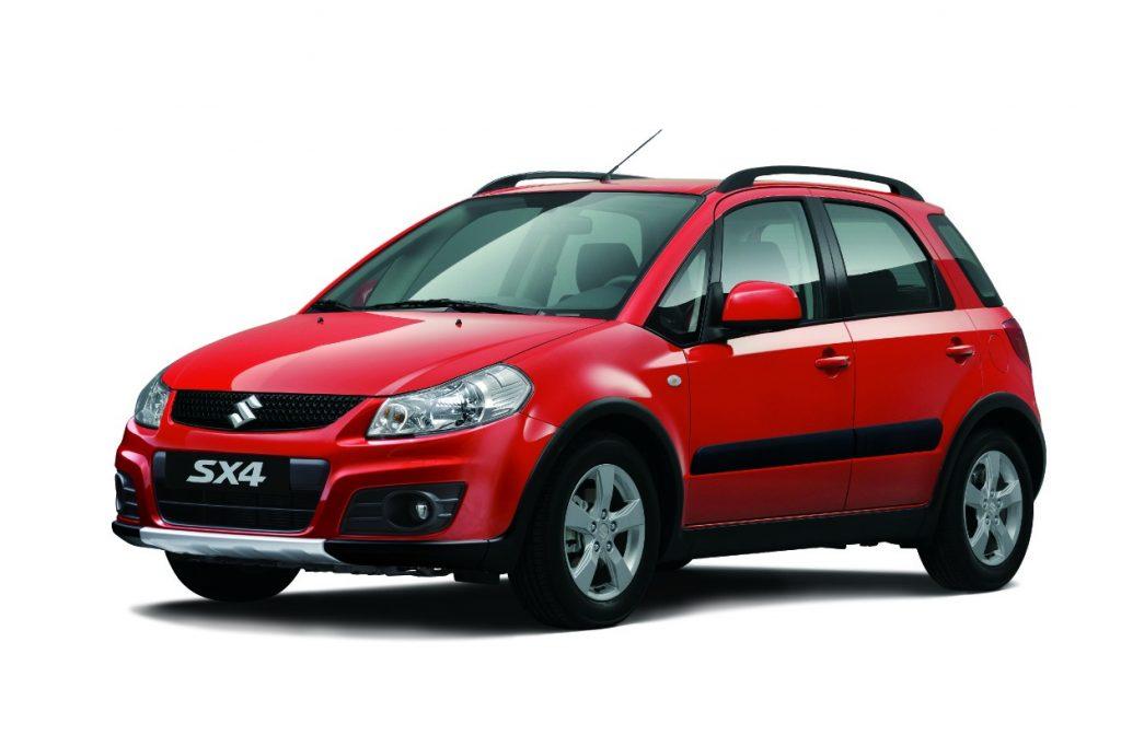 Suzuki SX4 X-Over (Red)