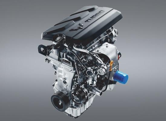 Mesin 1500 cc Turbo DOHC DVVT yang dipasangkan pada Wuling Almaz