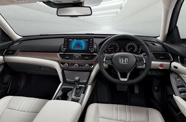 Honda Accord CV Dashboard Design