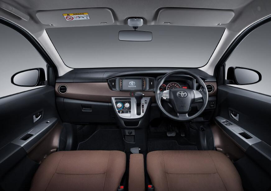 Toyota New Calya Facelift 2019 Interior