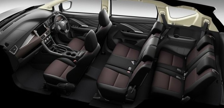 Interior Design of Mitsubishi Xpander Cross