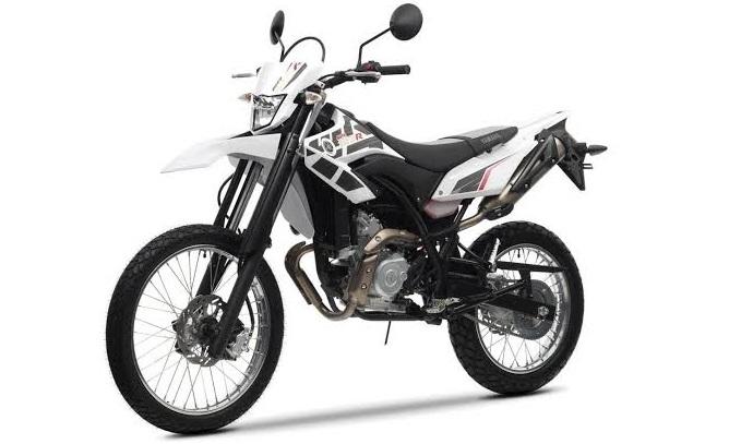 Yamaha WR155R Black-White